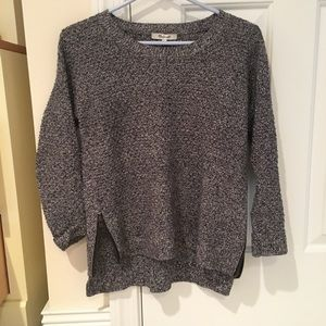 Madewell Side Zip Pullover Sweater